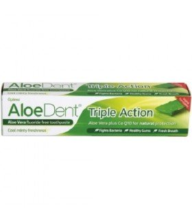 dentifrico de aloe vera triple acción 100 ml