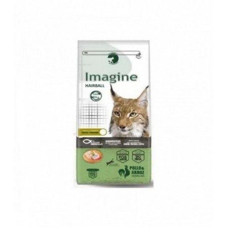bolas de pelo - imagine cat hairball