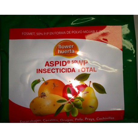 insecticida total aspid 50 wp flower - fosmet 50%
