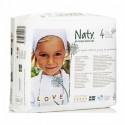 pañal biodegradable 7 a 18 kg Naty 27 unidades