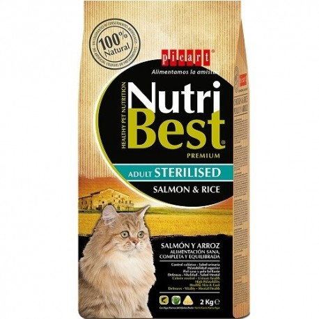 picart NutriBest Cat sterilised salmon and rice