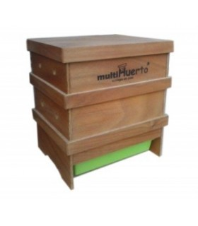 lombricompostador de madera