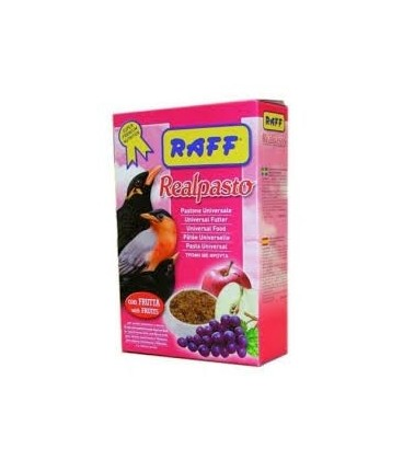 alimento para aves insectívoras raff real pasto