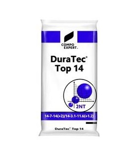 Duratec Top 14 fertilizante liberación lenta