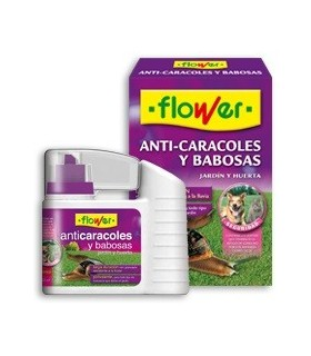anti caracoles flower